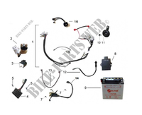ELECTRICAL COMPONENTS for Mash FIFTY EURO 4 50 2018