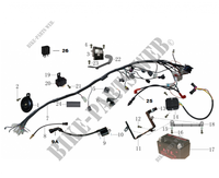 ELECTRICAL COMPONENTS for Mash SCRAMBLER 400 EURO 4 400 2018