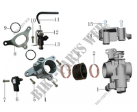 INJECTION DELPHI for Mash SCRAMBLER 400 EURO 4 400 2018