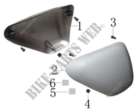 SIDE PANELS for Mash SCRAMBLER 400 EURO 4 400 2018