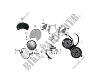 SPEEDOMETER / HEADLIGHT for Mash SCRAMBLER 400 EURO 4 400 2018