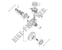 CRANKSHAFT for Mash SEVENTY FIVE EURO4 125 2017