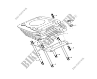 CYLINDER HEAD / SPARK PLUG for Mash SEVENTY FIVE EURO4 125 2017