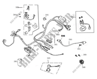 WIRING HARNESS for Mash SIXTY 125 (4T) 125 2016