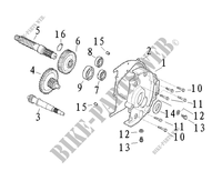 TRANSMISSION for Mash SIXTY FIVE 125 (4T) 125 2013
