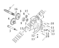 TRANSMISSION for Mash SIXTY FIVE 125 (4T) 125 2014