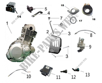 ENGINE COMPONENTS for Mash TWO FIFTY EURO4 250 2018